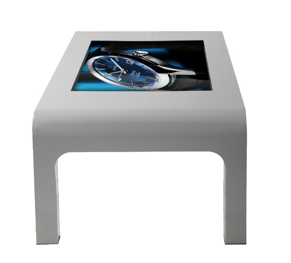 47 inch touch table interactive waterproof lcd advertising player for coffee shop