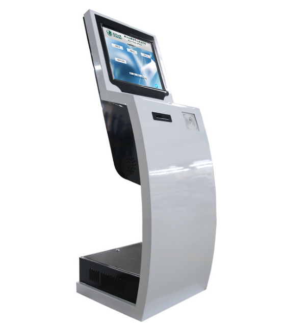 self service payment kiosk with ATM ,bill,printing photo booth