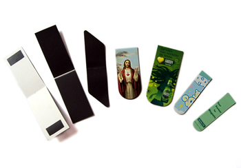 Wholesale Customized Various Printing Logo Rubber Magnetic Bookmark