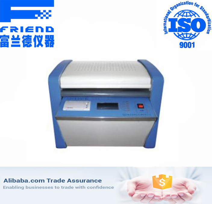 Automatic volume resistivity tester