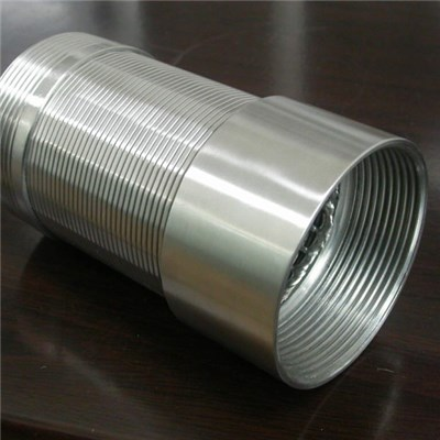 Stainless Steel Continuous Slot Wedge Wire Screen