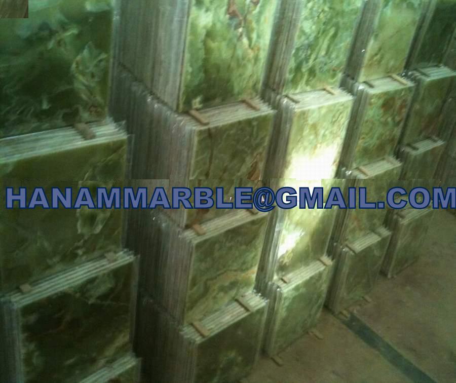 Onyx Stone Tiles Slabs Mosaic Moldings