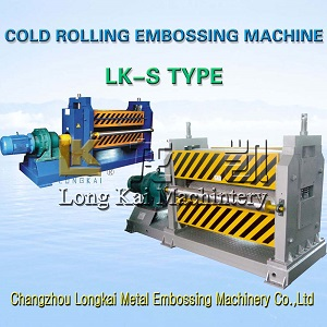 Metal plate cold rolling embossing machine manufacturer