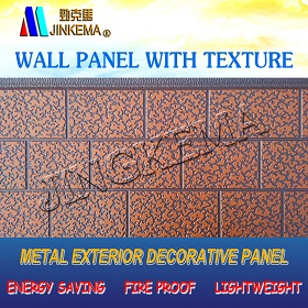 Exterior wall cladding board wall panel price and manufacturer made in china