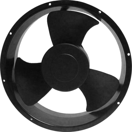 254*89mm radiator cooling fan 25489 for automobile cooling system
