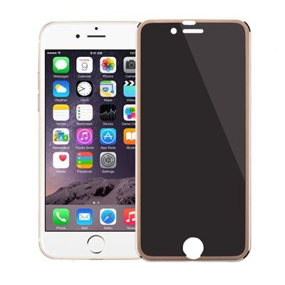 Gold Privacy Tempered Glass For IPhone6 6Plus