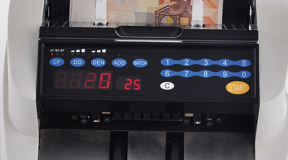 DB180 Back Loading system Banknote counter,Easy to be operated and Accuracy.