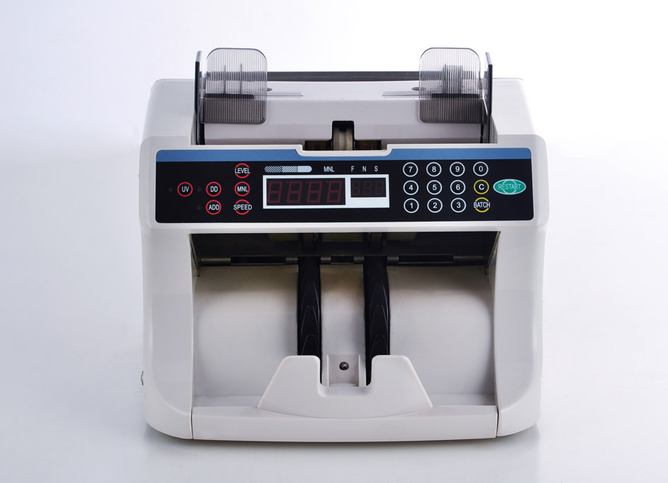 DB500 Front loading system Money counter,high quality ,fast speed,accuracy and good functions