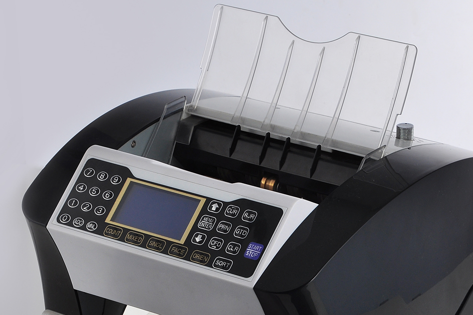 DB3000 Front loading system Money counter,high quality ,fast speed,accuracy and good functions.Two pockets(two stackers)for rejecting or suspected banknotes and real banknotes.