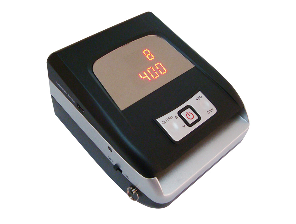 DB10 Full-Auto and accuracy of Banknote Detector,Tell you automatically about false banknotes.ECB test approval.
