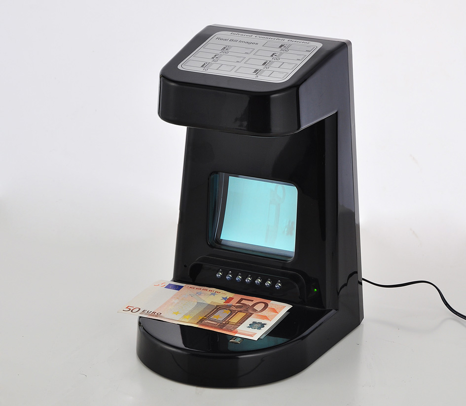 DB330 IR counterfeit detector,UV/MG/IR/WATER MARK functions,high accuracy.