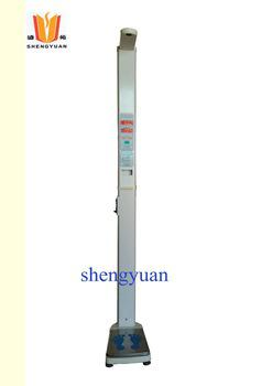 HGM-16 coin operated ultrasonic height and weight measuring machine