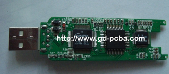 Customized Assembly USB PCBA design