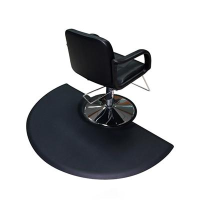 New Style Hair Salon Floor Mats Anti-fatigue Circle PU Salon Chair Mats in Customized Size, thickness and color