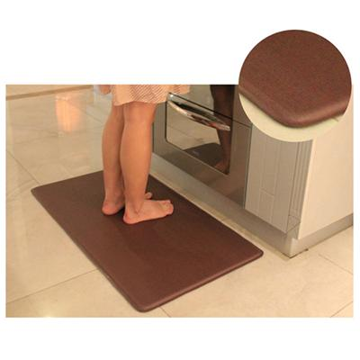 Wholesale anti fatigue PU foaming standing floor mat waterproof comfort desk floor mat for standing all day