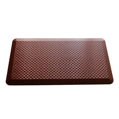 Elegant texture anti fatigue floor mat kitchen comfort mat waterproof and anti-slip floor standing mat in any custom size and color
