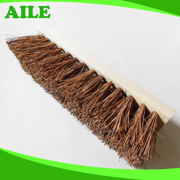 New Yiwu High Quality Stiff COCO Fiber Garden Brush