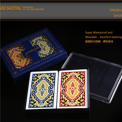 PVC PLAYING CARDS