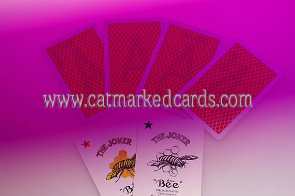 Bee Marked Plastic Cards