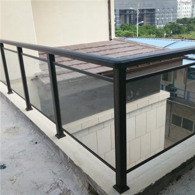 Aluminum Post Glass Railing