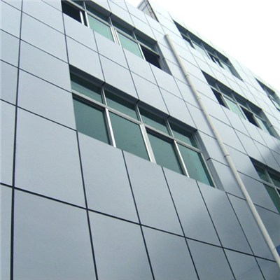 Alminum Composit Panel Curtain Wall