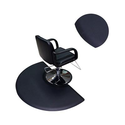 Mini semi circle 3/4inch thickness salon anti fatigue mat hair stylist salon floor mats, barber floor mats used in barber shop