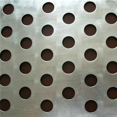 Perforated Aluminum Sheet for Anti-sliding