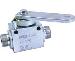 2-way High Pressure Ball Valve HBKH SERIES