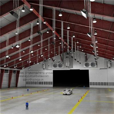 Prefabricated Steel Structure Hangar