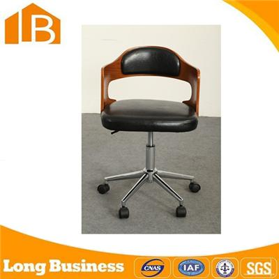 Office Pu Bar Stool