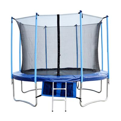 10FT Family Gardon Amusement Round Spring Trampoline With Net Inside