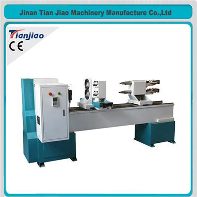 Automatic Column Master 3 Axis Wood Turning Lathe Machine