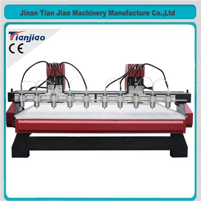 3d Machine Multi Head Cnc Wood Carving Machine