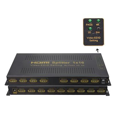 1x16 HDMI Splitter