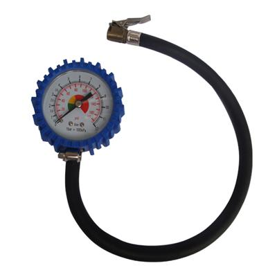 2.5inch-63mm Tire Pressure Gauge With Rubber Hose
