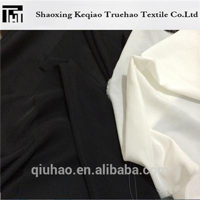 Plain Dyed Jet Black Fabric