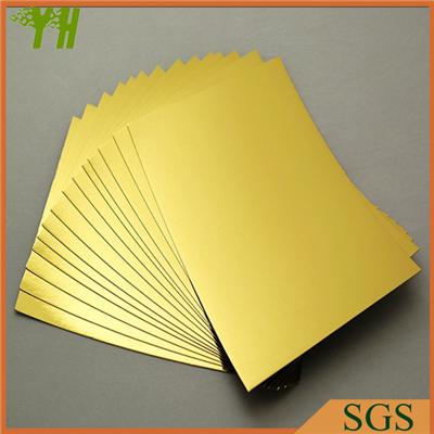 Golden Laminated Paper