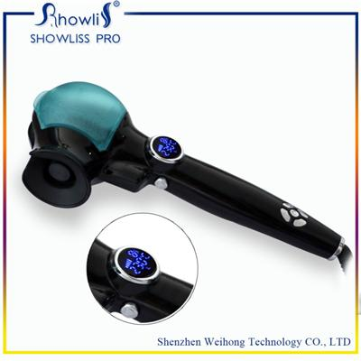 Auto Trace Frequency Technology LCD Steam Hair Curler