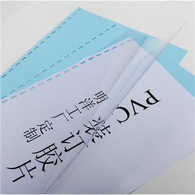 100% New Glossy Or Matte PVC Book Cover