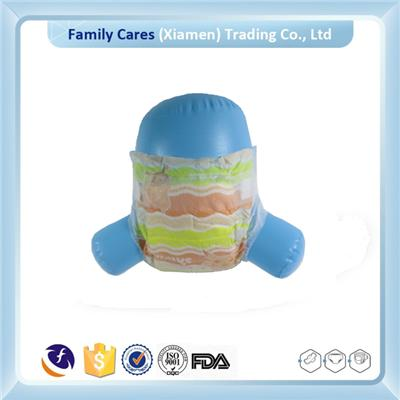 Plain White PE Film Cotton Baby Disposable Diapers Manufacturer In China