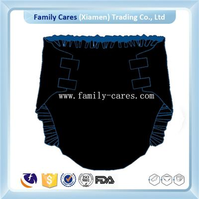 New Design Black Sheet Adult Diaper Wholesale