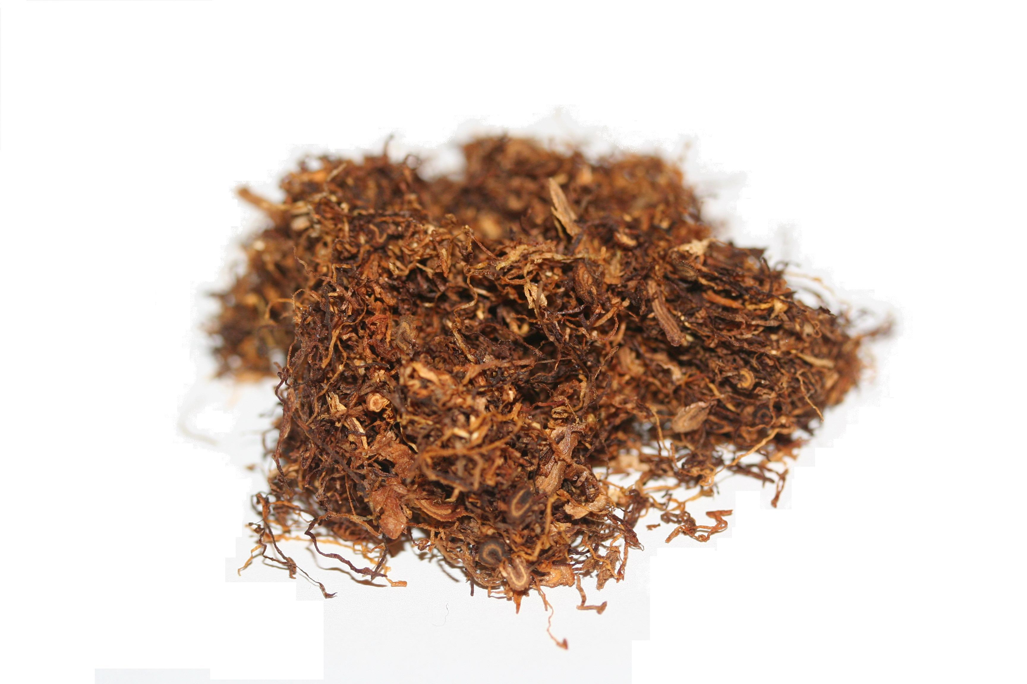 Black tobacco and other tobacco leaves