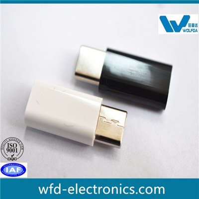 Type C Adpater USB 2.0 To Micro(P/N:WFD-CM-MicroS)