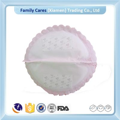 Ultra Thin Flowers Breast Pad For Women In The Breast-feeding Period