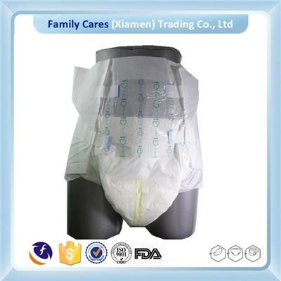 2016 Cheap Disposable Printed Adult Diaper For Elderly