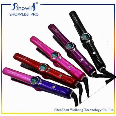 Advanced Ceramic Heat Technology MCH Heater LCD Hair Straightener
