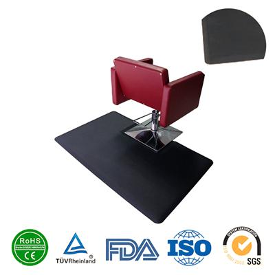 Professional hair salon chair mats wholesale beauty salon anti fatigue mats salon pads for barber shop, size 4*5*7/8inch