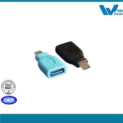 Type C To USB3.0 Adapter (P/N:WFD-CM-AFS)