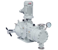 Hydraulic Double Diaphragm Pump