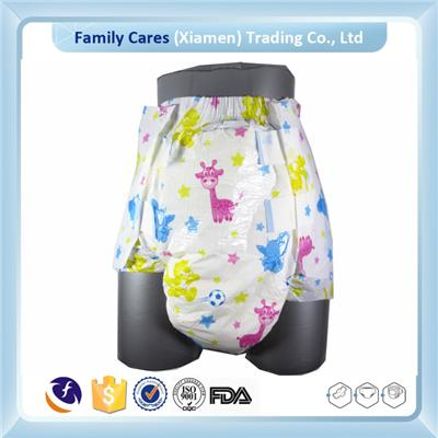 2016 Hot Selling Baby Print Adult Diaper For Abdl
